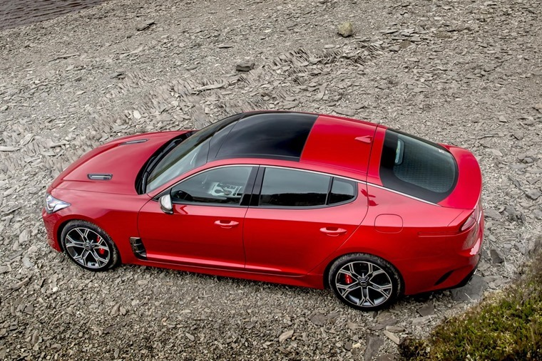 Kia Stinger GT made its debut in the UK