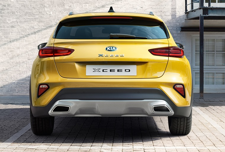 Kia XCeed 2019 rear