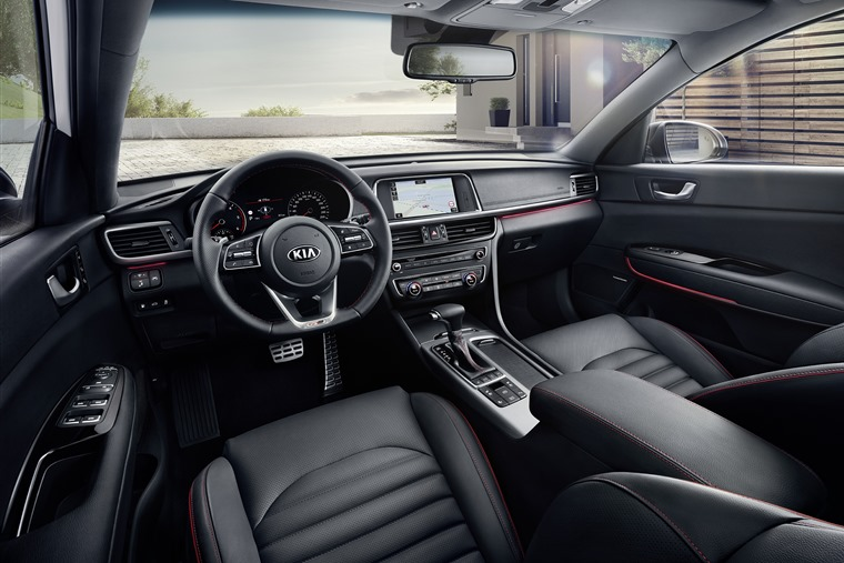 Kia Optima Sportswagon 2018 interior