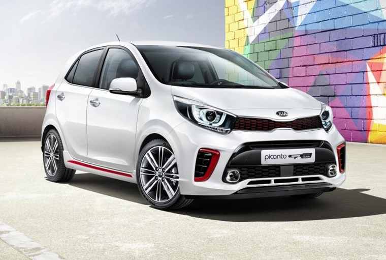 The new Kia Picanto will be available in sporty GT-Line trim.