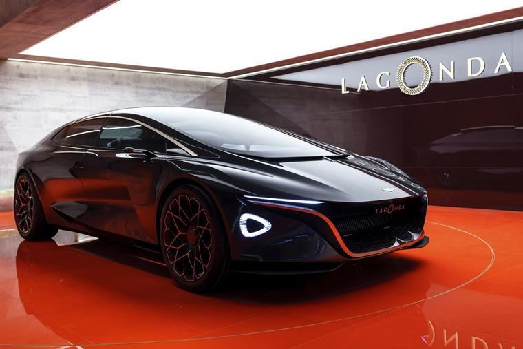 Aston Martin to relaunch Lagonda as a pure EV luxury brand