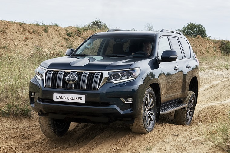 Toyota Land Cruiser gets a facelift