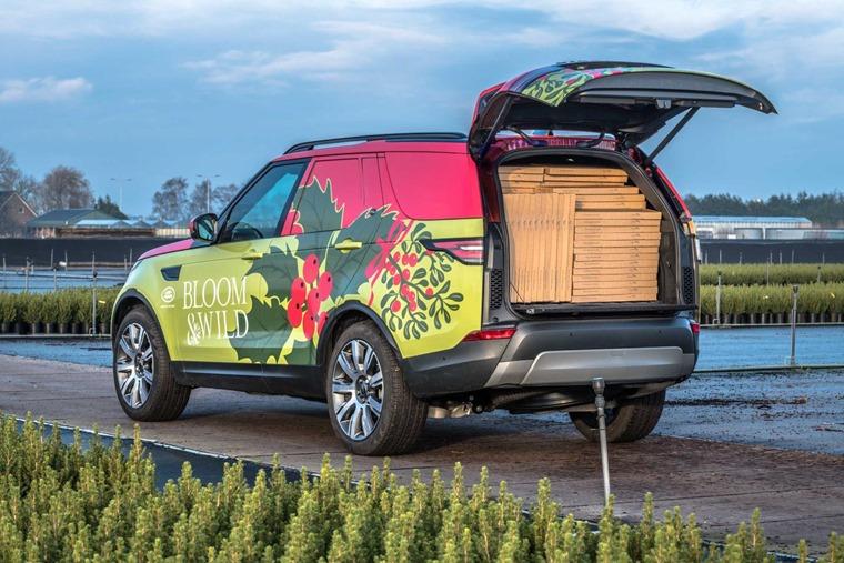 Land Rover Discover CV rear