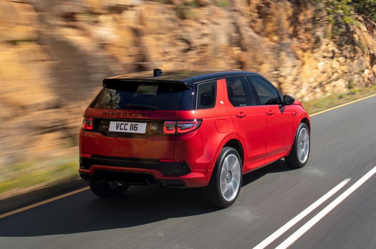 Land Rover Discovery Sport 2019 rear