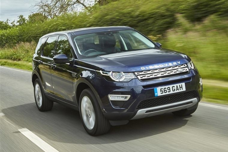 Land Rover Discovery Sport Blue Ingenium Front Dynamic 1