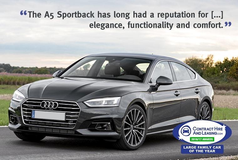 Best Large Family Car - Audi A5 Sportback