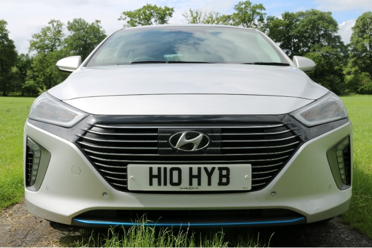 The Hyundai Ioniq is a hybrid that looks like any other car.