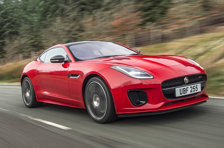 The new Jaguar F-Type will be available with a four-cylinder engine for the first time.