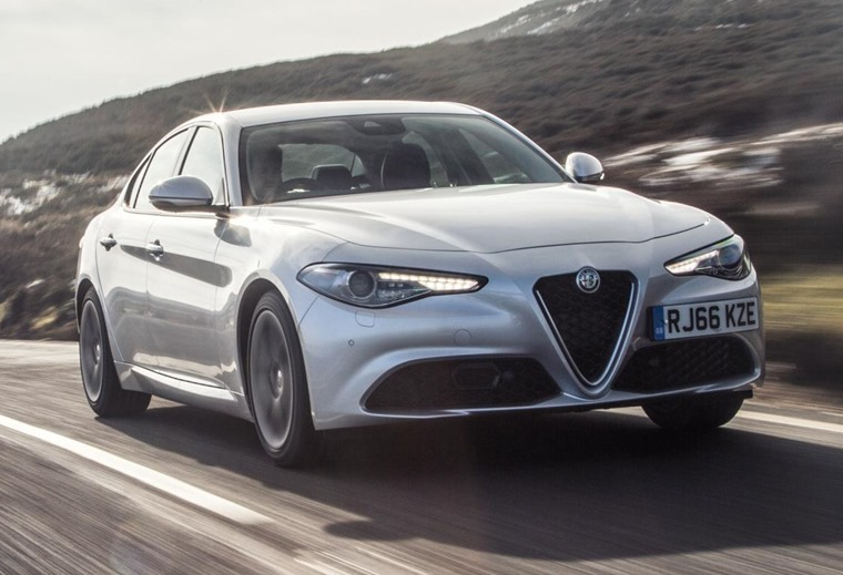 The Giulia is available with a number of trim levels.
