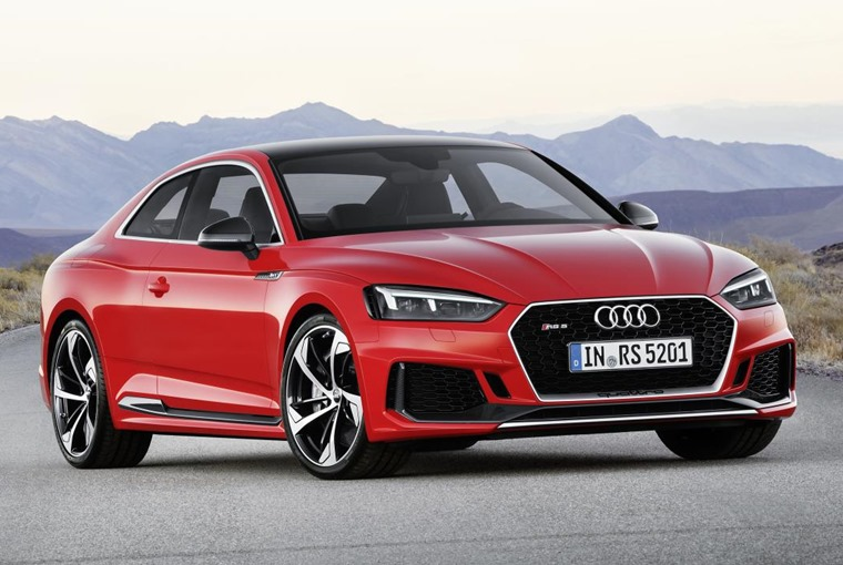 New RS 5 Coupe gets more torque but a smaller engine.