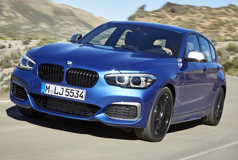 The BMW 1 Series gets tweaks for 2017.