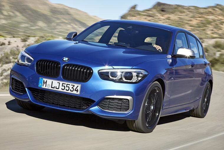 The BMW 1 Series gets tweaks for 2017.