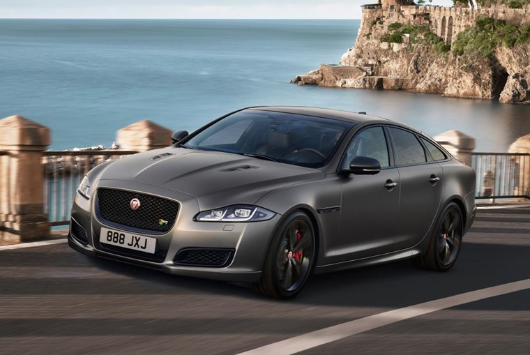Updated 2018 Jaguar XJ gets 567bhp V8 option.