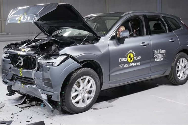 Volvo XC60 proved to be the safest car test yet in 2017.