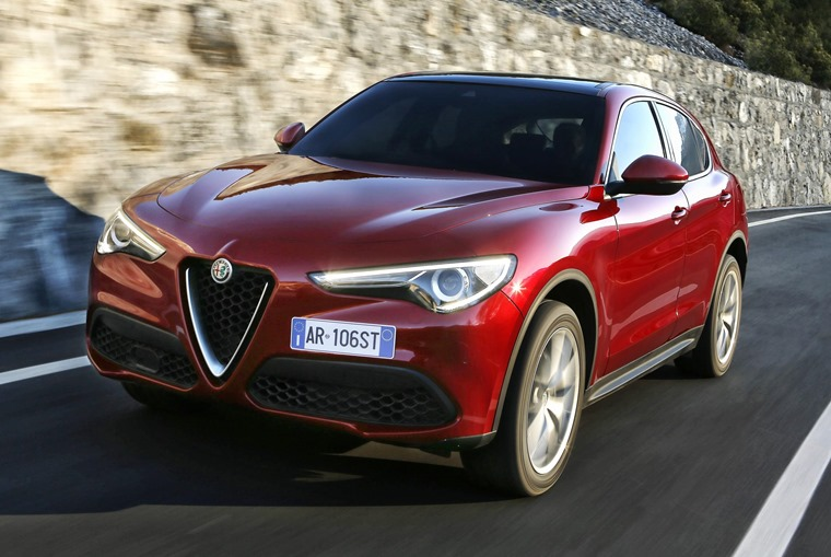 The Stelvio represents Alfa's first foray into the SUV market.