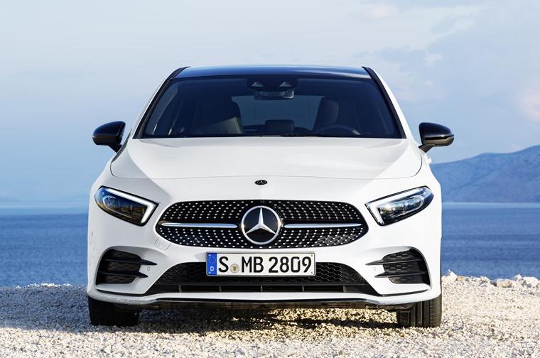 2018 Mercedes A-Class front