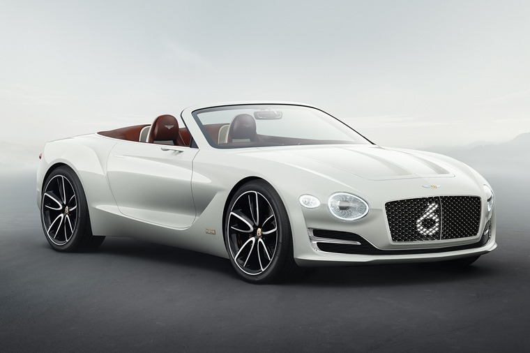 Bentley has unveiled what is probably the most opulent EV to date: the EXP 12 Speed 6e