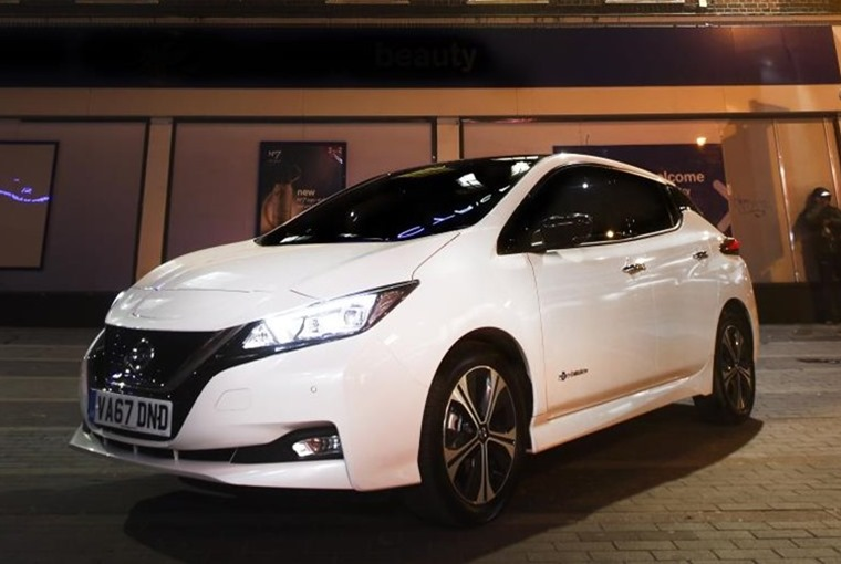 The new Nissan Leaf is capable of up to 235 miles on a single charge.