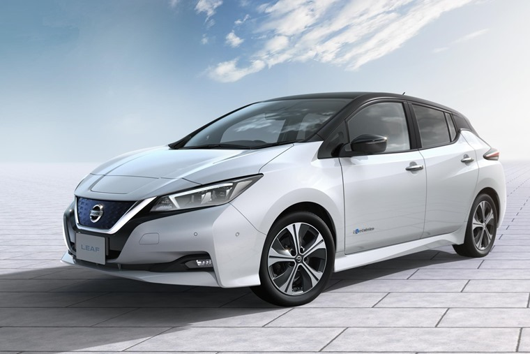 New Nissan Leaf will be on show