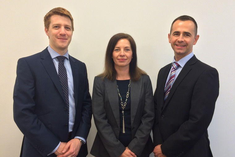 Leaseplan new recruits nov 2015 -  Head of Marketing Rachel Hawthorne, Digital Marketing Manager Neill Emmet, and Brand Director at Automotive Leasing Oliver Boots