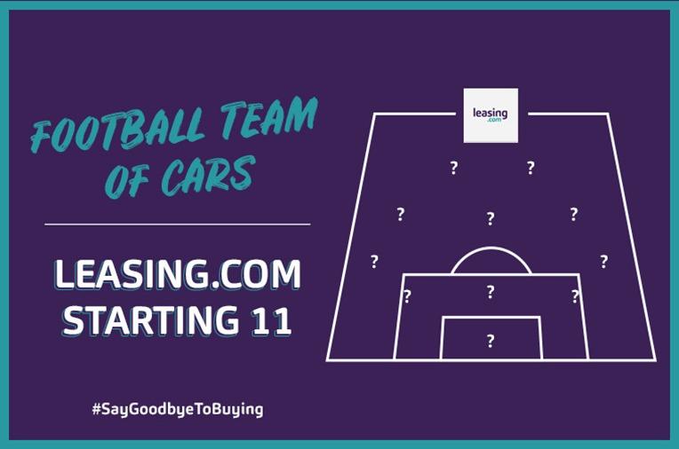 Leasing.com XI: Football team of cars