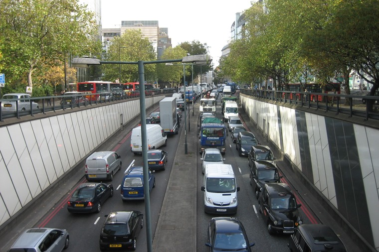 London congestion traffic
