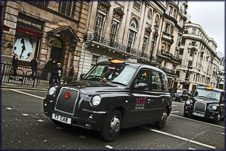 london taxi - PC - Dutch Simba flickr