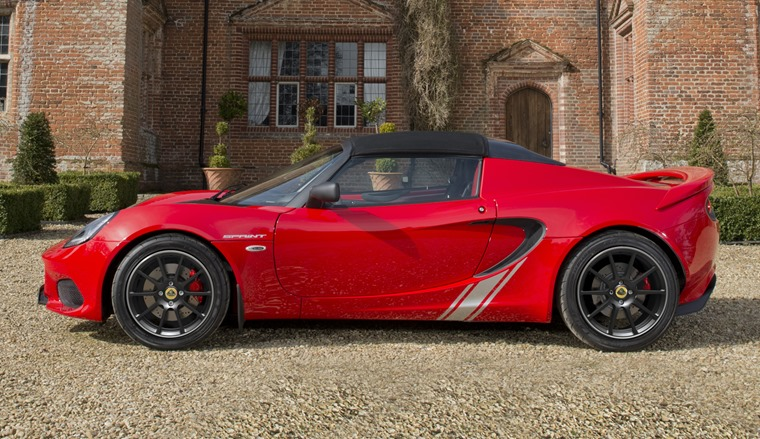 Lotus Elise Sprint 220 Side