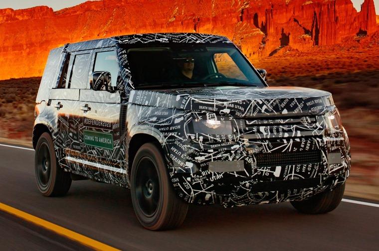 New Land Rover Defender OTR 2019