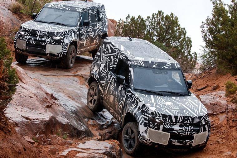 New Land Rover Defender SWB 2019
