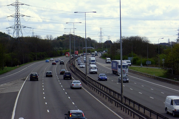 M1 motorway flickr underbean2
