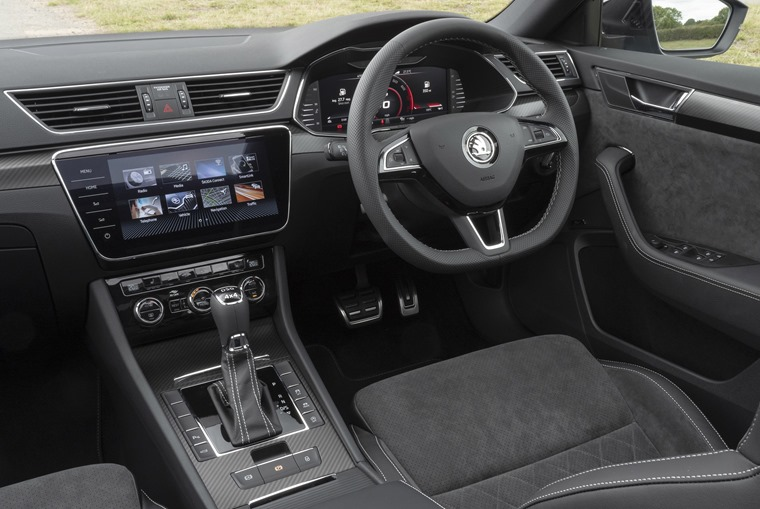 Skoda Superb Estate interior