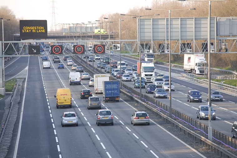 The M6 Toll carries more than 53,000 vehicles during the week