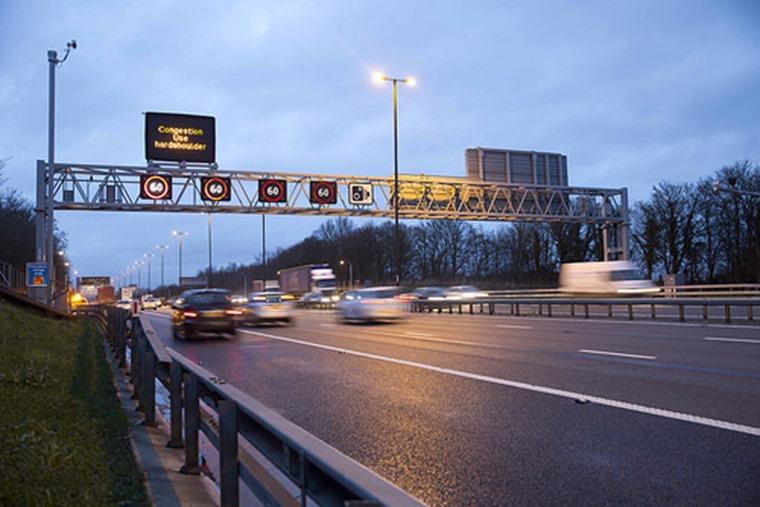 Managed motorway m4 flcikr highways agency