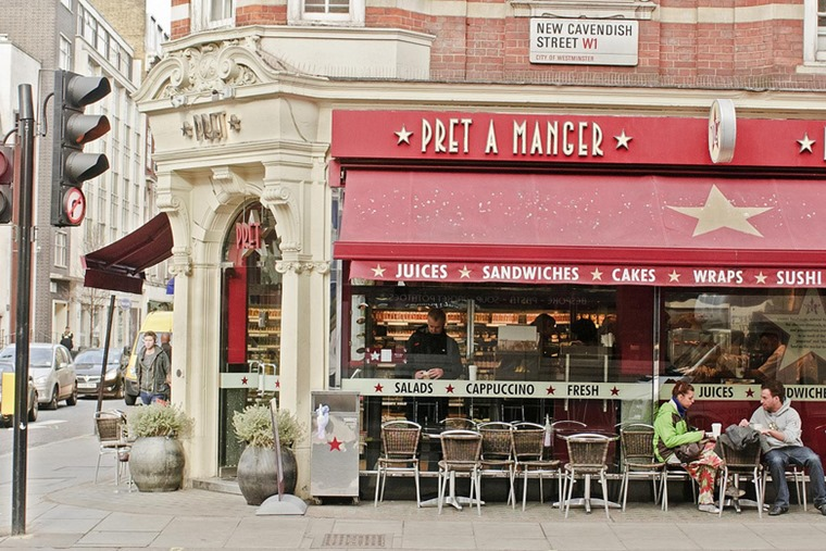 Pret a Manger, flickr, Marshall Segal