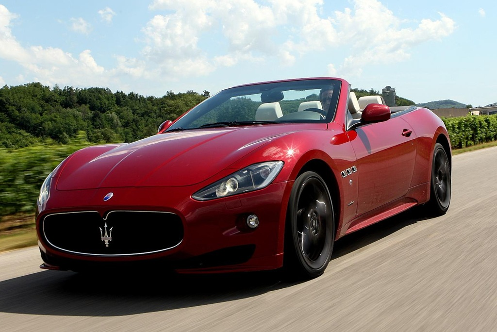 Maserati GranCabrio Sport now available