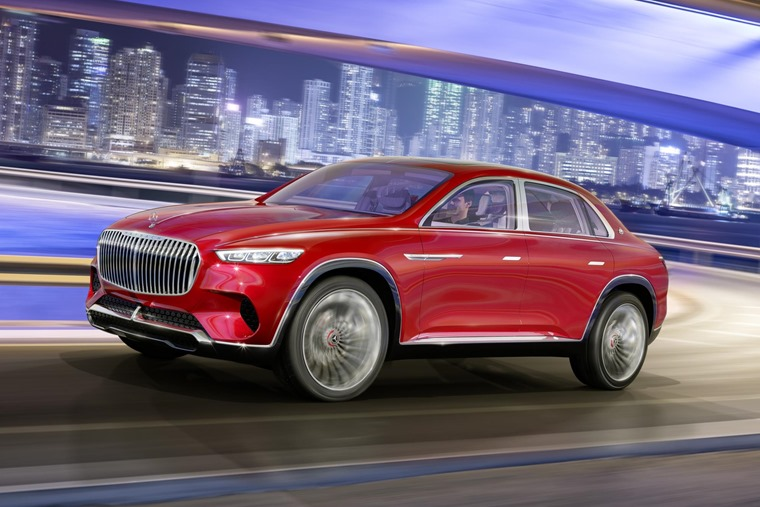 Mercedes Maybach Vision Ultimate Luxury concept front
