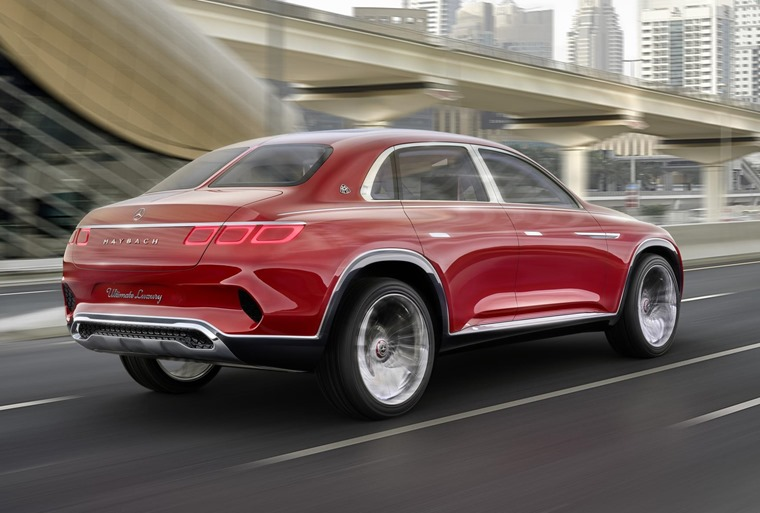 Mercedes Maybach Vision Ultimate Luxury concept rear