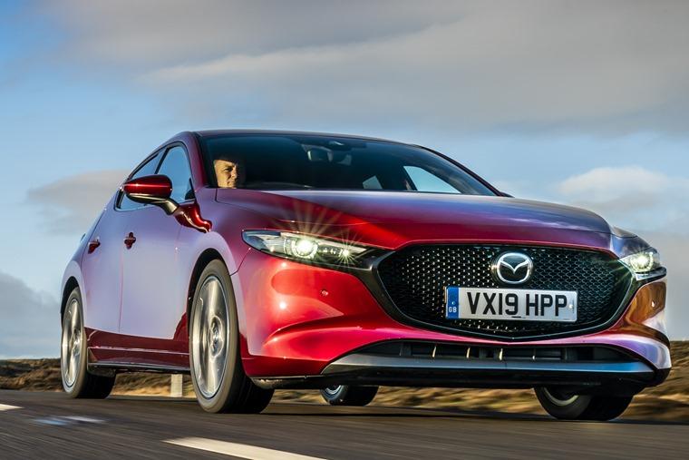 Mazda 3 2019 driving