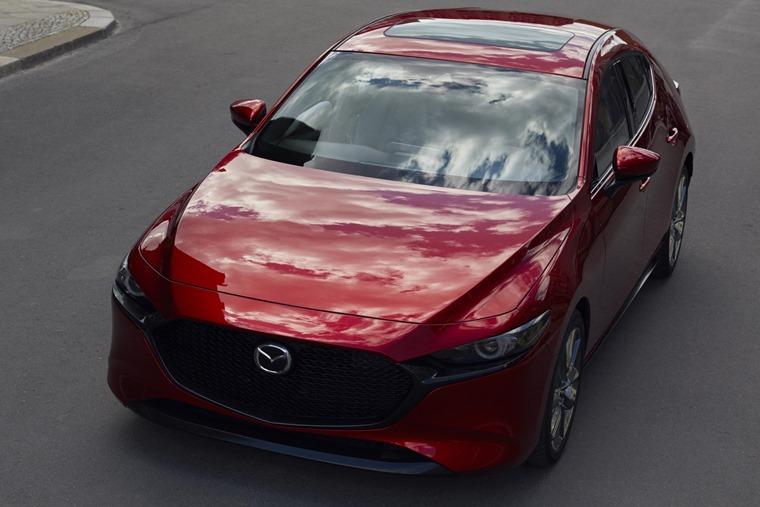 Mazda 3 2019 front