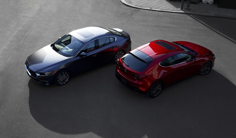 Mazda 3 2019 hatch and saloon