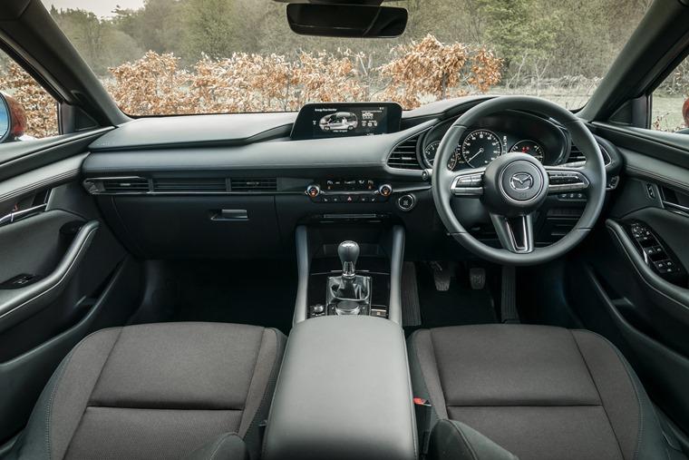 Mazda 3 2019 interior