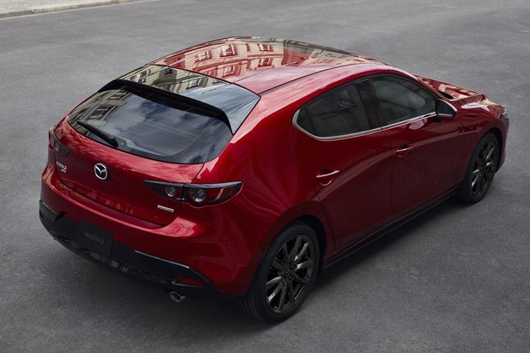 Mazda 3 2019 rear