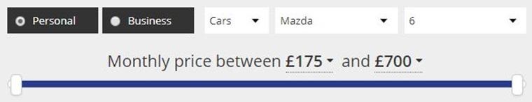 Mazda 6 lease deals