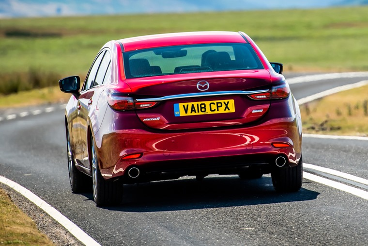 Mazda 6 rear driving
