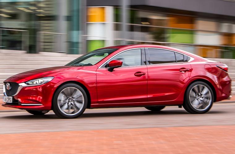 Mazda 6 side driving
