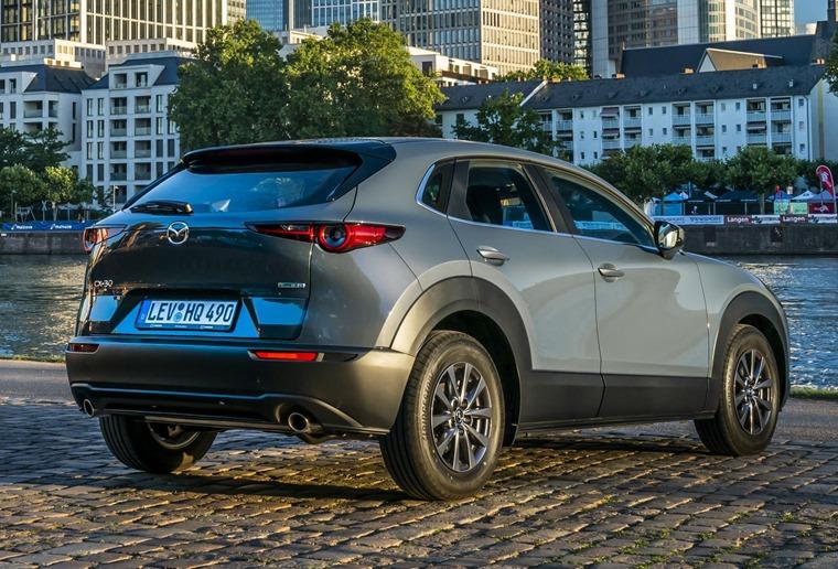 Mazda CX-30 rear