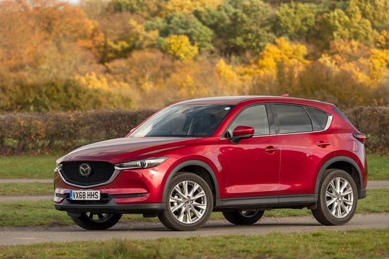 Mazda CX-5 2019 side