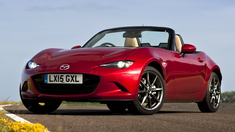 Mazda MX5 At Goodwood.</p><br /><br /><br /><br /><p>21st - 22nd June 2015.</p><br /><br /><br /><br /><p>Photo: Drew Gibson