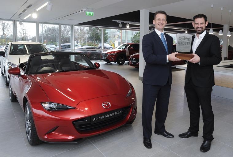 Mazda MX-5 UK Car of the Year 2016 UKCotY - Jeremy Thomson and John Challen